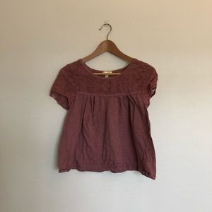 Urban Outfitters Pins and Needles Lace Top
